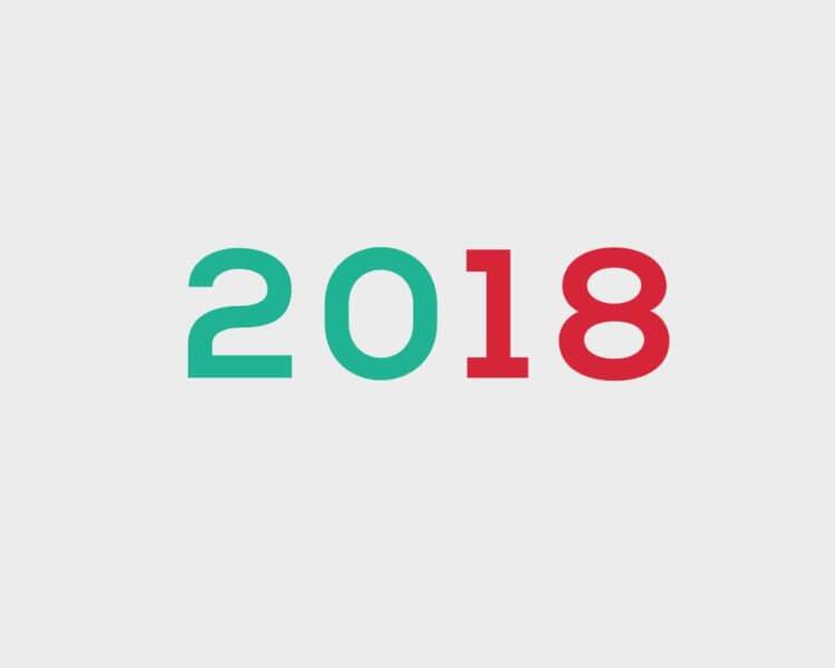 Objetivos para 2018