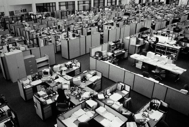 Antiguas oficinas masificadas